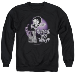 Image for Betty Boop Crewneck - My Way