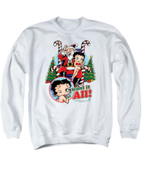 Image for Betty Boop Crewneck - I Want It All