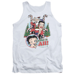 Image for Betty Boop Tank Top - I Want It All