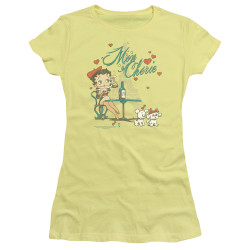 Image for Betty Boop Girls T-Shirt - I'm On Cherie
