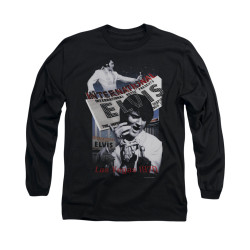 Image for Elvis Long Sleeve T-Shirt - International Hotel