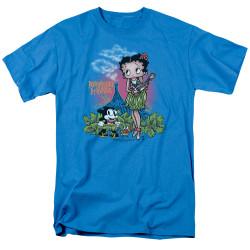 Image for Betty Boop T-Shirt - Polynesian Princess