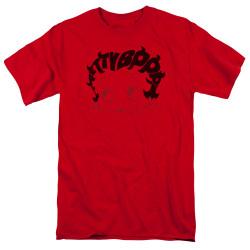 Image for Betty Boop T-Shirt - Word Hair