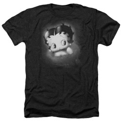 Image for Betty Boop Heather T-Shirt - Vintage Star