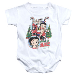 Image for Betty Boop Baby Creeper - I Want it All
