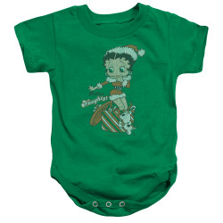 Image for Betty Boop Baby Creeper - Define Naughty