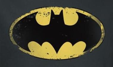 Image for Batman T-Shirt - Distressed Shield Logo