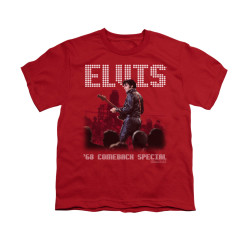 Image for Elvis Youth T-Shirt - Return of the King
