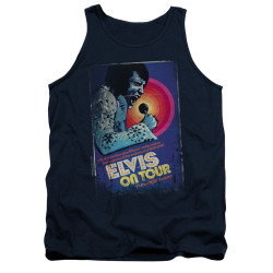 Image for Elvis Tank Top - On Tour Poster