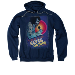Image for Elvis Hoodie - On Tour Poster