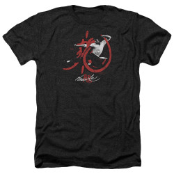 Image for Bruce Lee Heather T-Shirt - High Flying