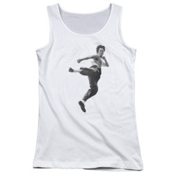 Image for Bruce Lee Girls Tank Top - Flying Kick
