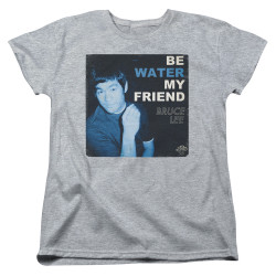 Image for Bruce Lee Womans T-Shirt - Water