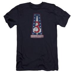 Image for Battlestar Galactica Premium Canvas Premium Shirt - Vigilantes Badge
