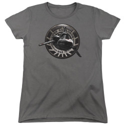 Image for Battlestar Galactica Womans T-Shirt - Viper Squadron