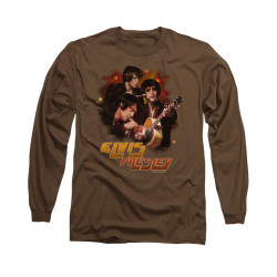 Image for Elvis Long Sleeve T-Shirt - Hyped
