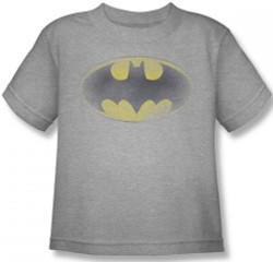 Image for Batman Faded Logo Toddler T-Shirt