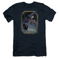 Image for Battlestar Galactica Premium Canvas Premium Shirt - Poster