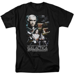 Image for Battlestar Galactica T-Shirt - 35th Anniversary Collage