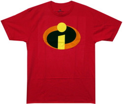 Image Closeup for The Incredibles Logo T-Shirt