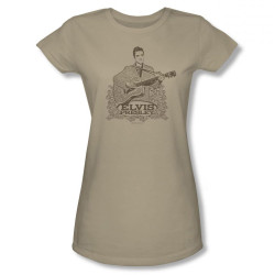 Image for Elvis Girls T-Shirt - Laurels