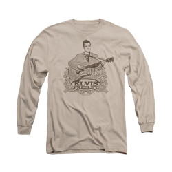Image for Elvis Long Sleeve T-Shirt - Laurels