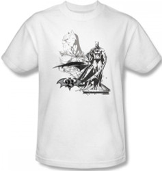 Image Closeup for Batman T-Shirt - Overseer