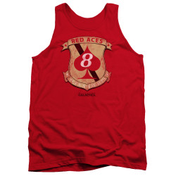 Image for Battlestar Galactica Tank Top - Red Aces Badge