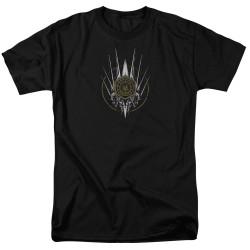 Image for Battlestar Galactica T-Shirt - Crest of Ships