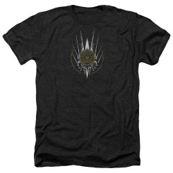 Image for Battlestar Galactica Heather T-Shirt - Crest of Ships