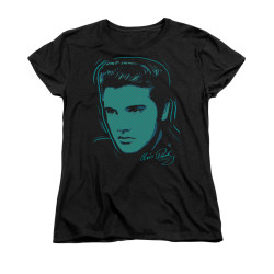 Image for Elvis Woman's T-Shirt - Young Dots