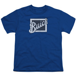 Image for Buick Youth T-Shirt - Distressed Emblem