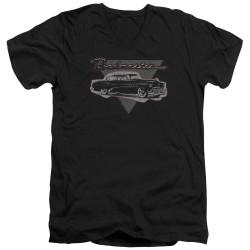 Image for Buick V Neck T-Shirt - 1952 Roadmaster