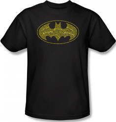 Image Closeup for Batman T-Shirt - Type Logo