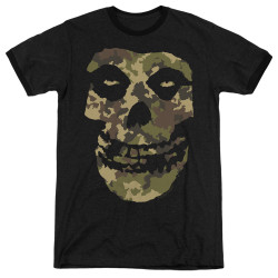 Image for The Misfits Ringer - Camo Skull