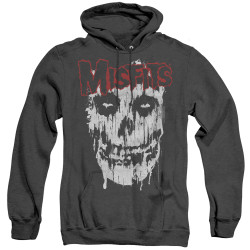 Image for The Misfits Heather Hoodie - Splatter