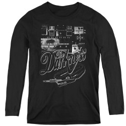 Image for The Darkness Women's Long Sleeve T-Shirt - Pedal Board