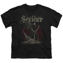 Image for Seether Youth T-Shirt - Reaper