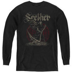 Image for Seether Youth Long Sleeve T-Shirt - Reaper