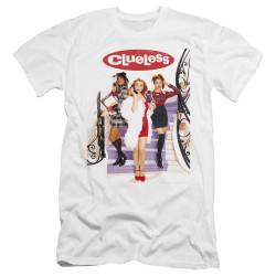 Image for Clueless Premium Canvas Premium Shirt - Classic Poster