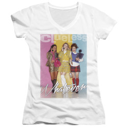 Image for Clueless Girls V Neck - Whatever