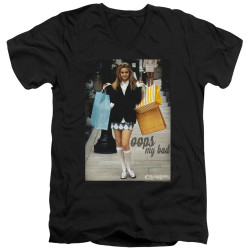 Image for Clueless V Neck T-Shirt - Oops My Bad