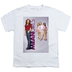 Image for Mean Girls Youth T-Shirt - Poster Art