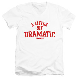 Image for Mean Girls V Neck T-Shirt - Dramatic