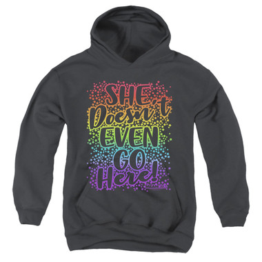 Image for Mean Girls Youth Hoodie - Doesn't Go Here