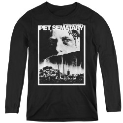 Image for Pet Sematary Women's Long Sleeve T-Shirt - Poster Art