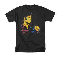 Image for Elvis T-Shirt - Neon Elvis