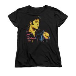 Image for Elvis Woman's T-Shirt - Neon Elvis