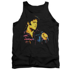 Image for Elvis Tank Top - Neon Elvis