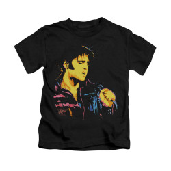 Image for Elvis Kids T-Shirt - Neon Elvis